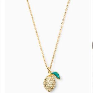 Kate Spade Lemon Necklace